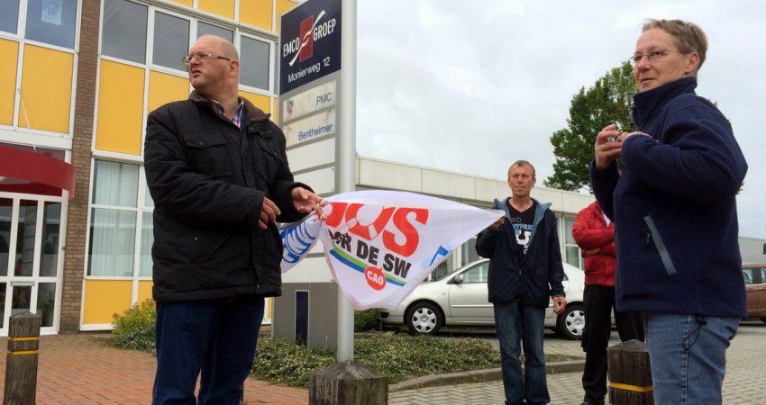 WSW-actie in Coevorden.
