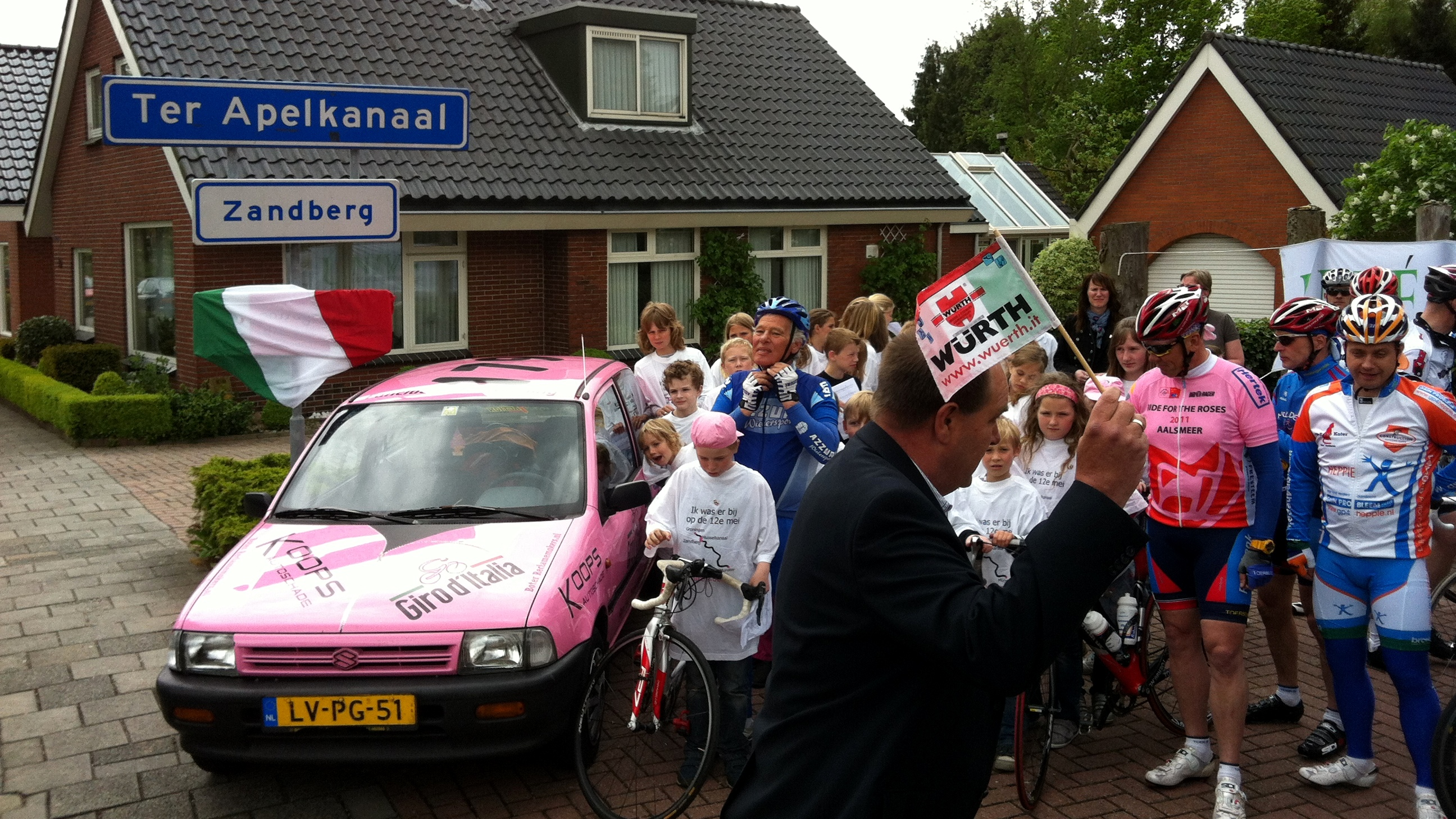 Giro leeft ook tien jaar later nog in Zandberg
