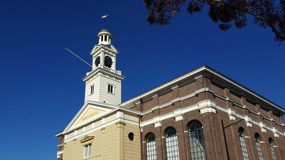 Kerk in Assen.